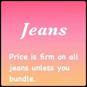 Other - ✨ 👖Jeans ✨